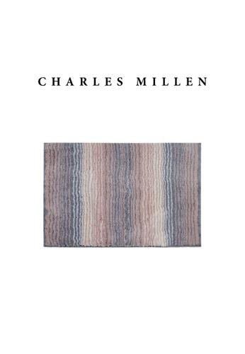 Charles Millen pink SET OF 2 Charles Millen TL1889 Mia Microfibre Anti-Slip Bath Mat 40x60CM 6E330HL1A15BBCGS_1