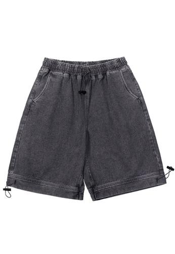 Twenty Eight Shoes black Soft Faded Denim Shorts 3130S20 E74E1AA9FF4122GS_1