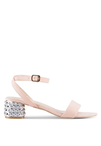 Sunnydaysweety pink Simple Strappy Open Toes Heel A0228PI 61E5BSHABD16CDGS_1