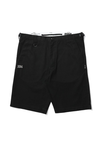 izzue black Army X04 chino shorts 12808AA7E25C2CGS_1