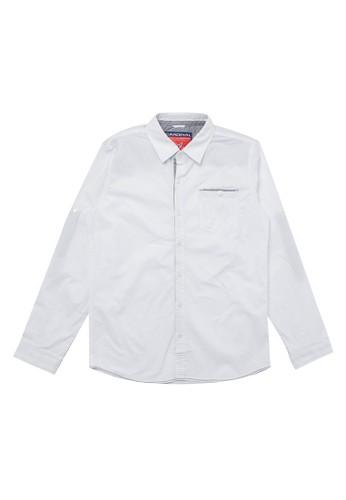 Cardinal Kids white Long Sleeves Shirt 36E2CKAECD27E7GS_1