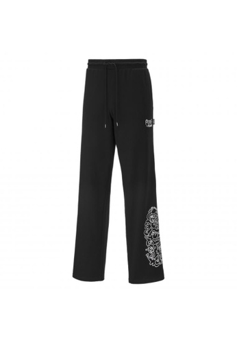 PUMA black PUMA x MR DOODLE Men's Sweatpants D0759AADE86A40GS_1