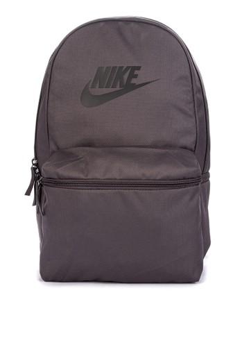 Nike grey Nike Heritage Backpack 5B1AEAC4D56A04GS_1