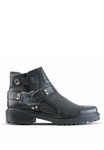 Sogno black Sepatu Boot Pria GF.5201 E0883SH714D3C8GS_1
