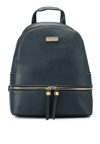 Unisa navy Saffiano Effect Backpack A2AD0ACAFB9B57GS_1