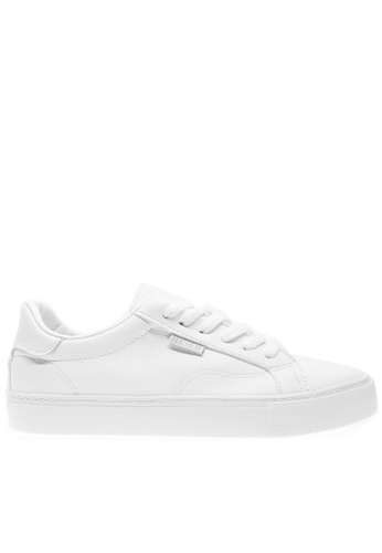 Twenty Eight Shoes white Basic Lace Up Sneakers 6827 TW446SH2UXEKHK_1