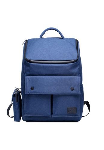 The Dude navy Dreamer Backpack TH373AC96EHZHK_1