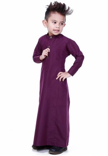 Amar Amran purple Jubah Aulad For Kids AM362KA37VDEMY_1