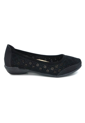 midzone black Comfortable Women Loafer MI949SH08BKLMY_1