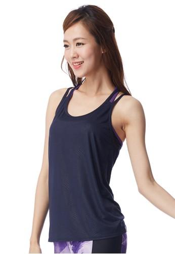 羽紋微風輕盈罩衫, 運動, zalora時尚購物網的koumi koumi服飾