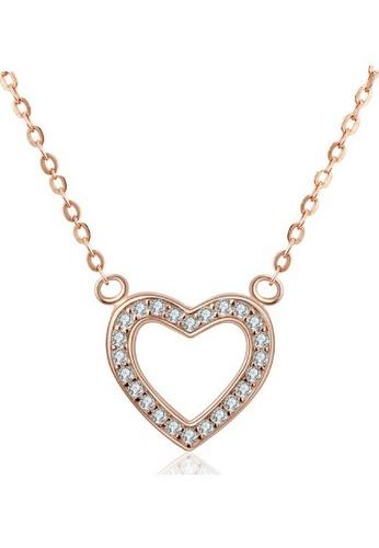 Vivere Rosse gold Vivere Rosse Unconditional Love Necklace VI014AC56ZRJMY_1