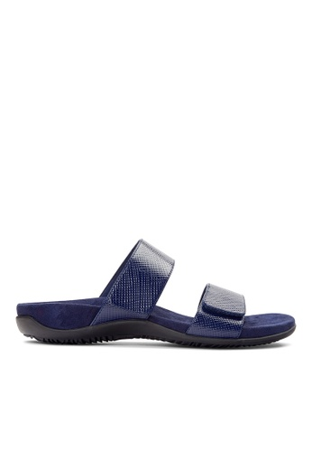 Vionic navy Samoa Slide Sandal B90A5SHF4AC5B5GS_1