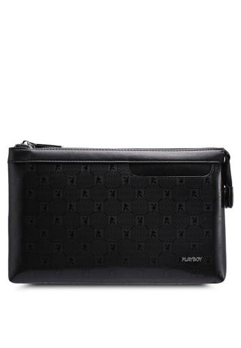 Playboy black Playboy Clutch Bag 6CE01AC4A3587BGS_1