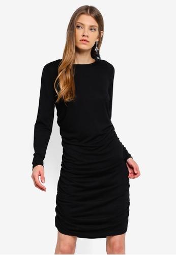 JACQUELINE DE YONG black Rosa L/S Dress E76A0AAEF3E9CEGS_1