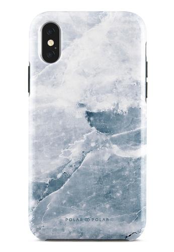 Polar Polar grey Icy Dual-Layer Tough Case Glossy For iPhone X / XS 10C66AC3AD1B2CGS_1