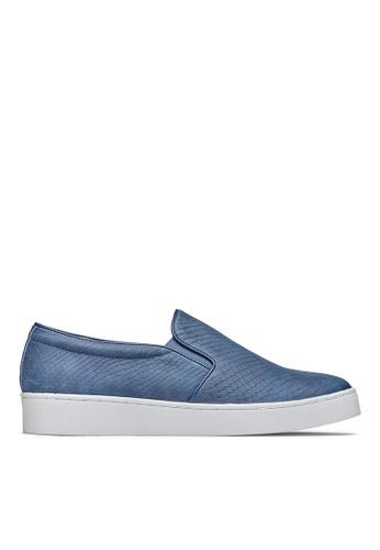 Vionic blue Midi Snake Slip-On Sneaker 94657SH3E77F32GS_1