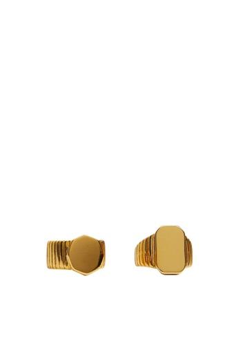 Mango gold 2-Pack Seal Ring Set E3336ACD457F3FGS_1