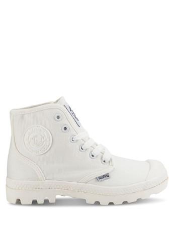 Walker 繫帶高筒休閒鞋, 女鞋zalora 衣服尺寸, 鞋