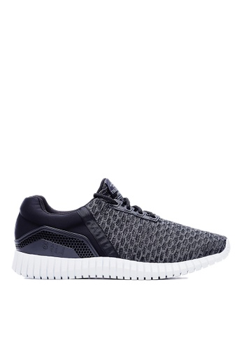 Life8 black Men Women Nano Ag+ Fabric 3D Elastic Sport Shoes-09476-Black LI286SH0RKY1MY_1