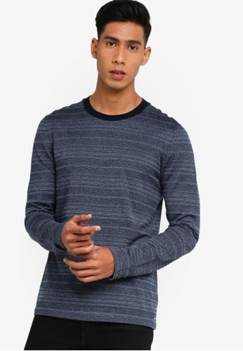 BOSS blue T-Thias T-Shirt CE880AA277E032GS_1