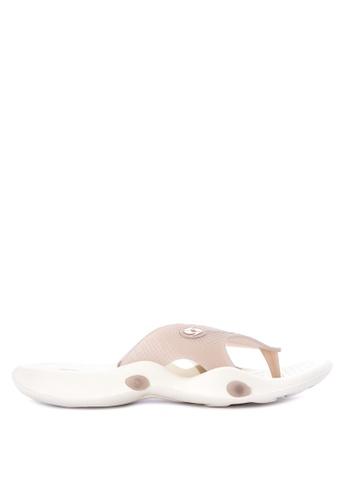 Krooberg grey Viper Slip-On Sandals 00367SH7A8FB67GS_1