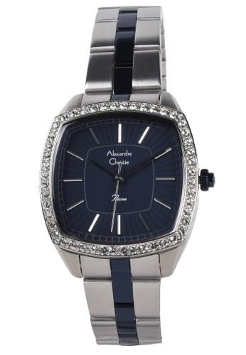 Alexandre Christie blue Alexandre Christie - Jam Tangan Wanita - Silver Blue - Stainless Steel Bracelet - 2885LHBTUBU E43F5AC4BF9916GS_1