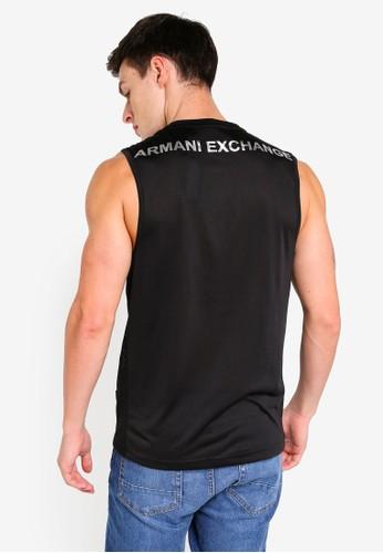 Armani Exchange black Logo Behind Tank 2C633AA8E53D84GS_1