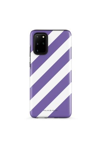 Polar Polar purple Purple Slash Dual-Layer Tough Case Glossy For Samsung S20 Plus EF091AC33D83C0GS_1
