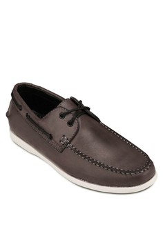 Faux Leather 2 - Eye Boat Shoes