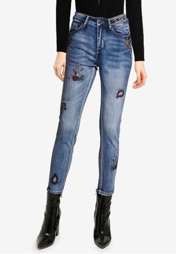 Desigual blue Monaco Skinny Jeans E4494AA0FD5330GS_1