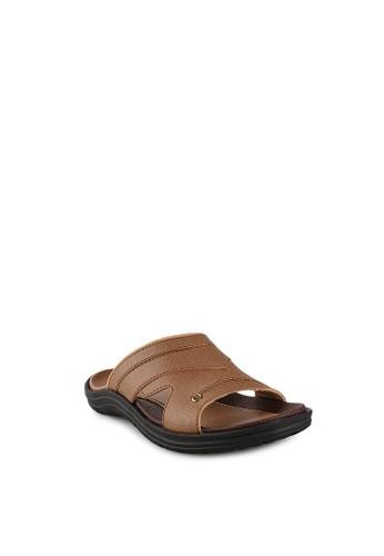 Homyped brown Santana 02 Men Sandals HO842SH16PWTID_1