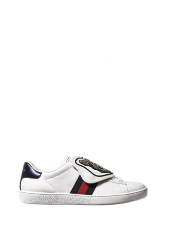 Gucci multi GUCCI ACE SNEAKERS WITH REMOVABLE PATCHES 09D16SH15B7699GS_1