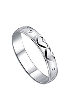 Twin Heart Couple Ring
