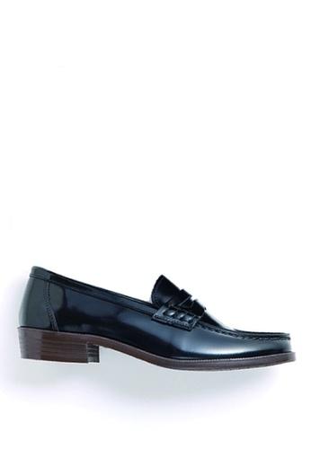 HARUTA black Color Loafer-230 79B6BSHCE218E5GS_1
