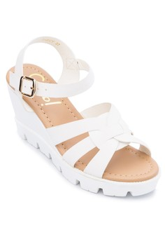 Darcy Wedge Sandals