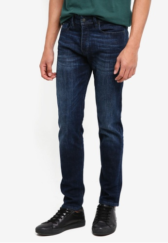 BOSS blue and navy Taber BC-P Jeans - Boss Casual 4BD5FAA25C4CE4GS_1
