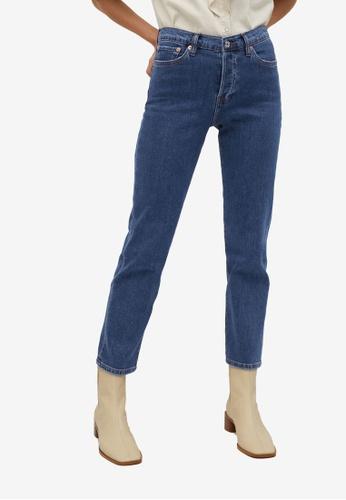 Mango blue Casual Jeans 9C5F3AA4535F3BGS_1