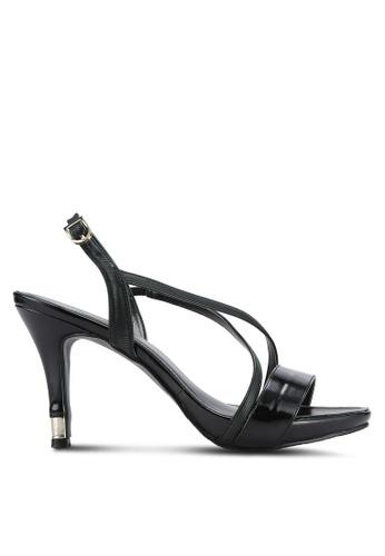 DMK black Basic Strappy Heels DM860SH0RG1JMY_1
