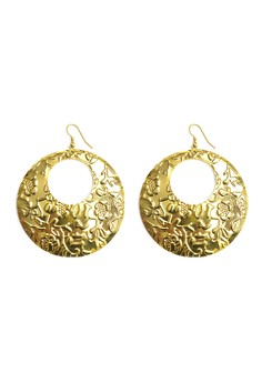 Clique Fashion Majestic Coin Earrings Fashion Statement