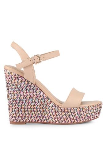 ALDO beige Lovalewet Wedge Sandals B38F0SH6697E90GS_1
