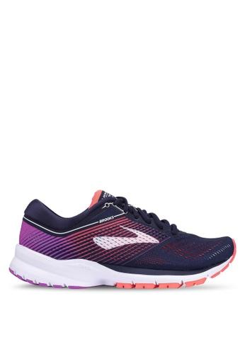 Brooks navy Launch 5 Shoes ABF68SH3AB8EECGS_1