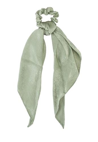 Rubi green New York Convertible Scrunchie A0D90AC418BF82GS_1