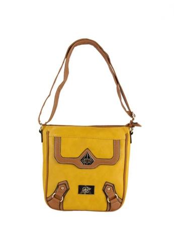 DNJ yellow Casual Styling Sling Bag DN487AC17KIWPH_1