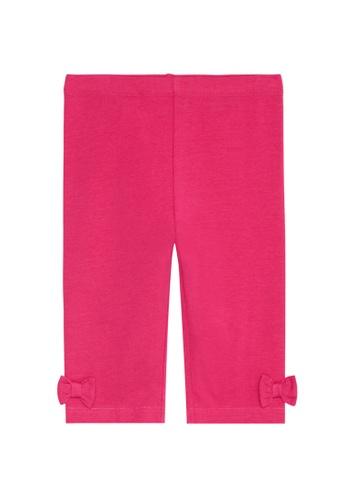 Du Pareil Au Même (DPAM) pink Bow Leggings 810FAKAA3C26BDGS_1
