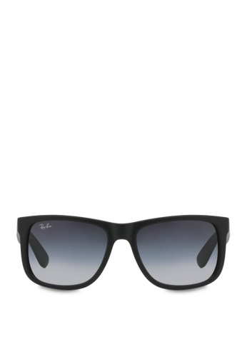 fbad99532 Ray-Ban black Justin RB4165 Sunglasses RA370GL56SDNSG_1. CLICK TO ZOOM