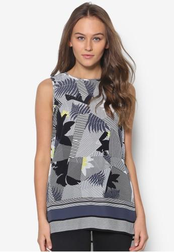 棕櫚樹印花坦克背心,esprit台灣門市 服飾, 上衣