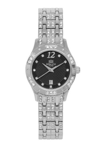 Roscani silver Roscani Keira B77 (Platinum Plating) Platinum Black Bracelet Women Watch 6A412AC6C3B044GS_1