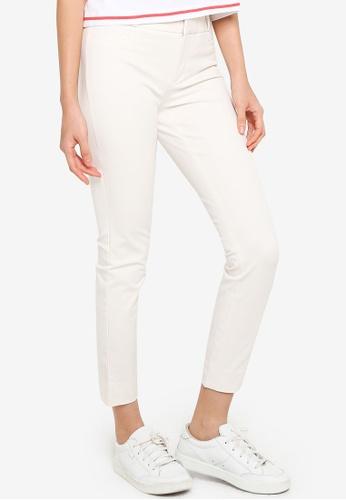 Banana Republic white Modern Sloan Pants 1486DAABF90FCBGS_1