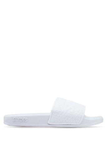 Slydes white Cali Slides F61BCSHFAB58ECGS_1