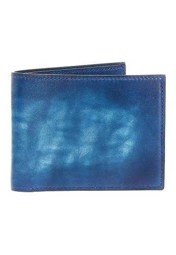 Jonathan Abel blue Jonathan Abel Isaiah Wallet - Blue Patina BBF56AC69F3DD2GS_1